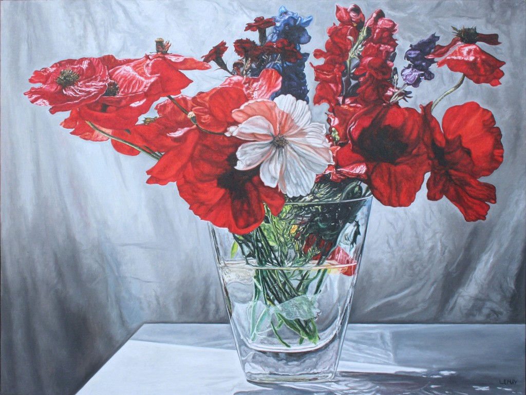 Цветы артисту
