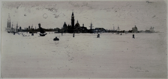 Joseph Pennell, 'Lagoon, Venice', 1883, Private Collection, NY