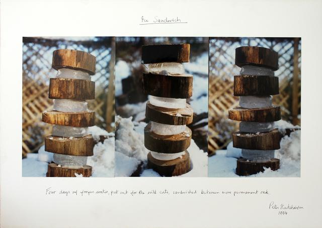 , 'Ice Sandwich,' ca. 1994, Gaa Gallery