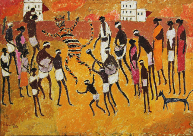 , 'Tiger Dance,' 2007, Gnani Arts