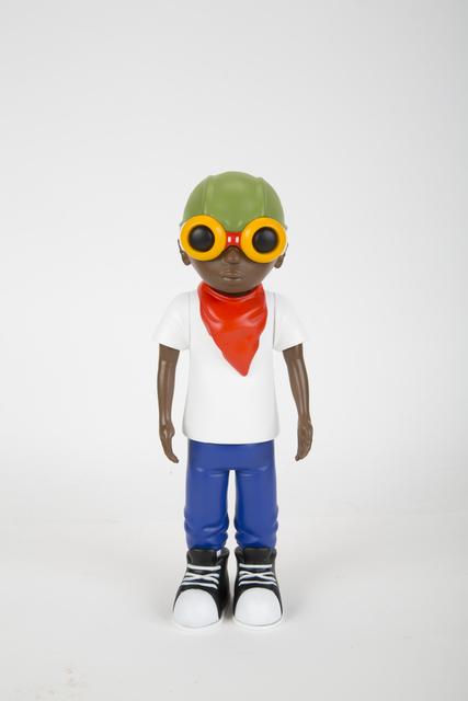 Hebru Brantley, 'Flyboy', 2014, Sculpture, Painted cast vinyl figure, Julien's Auctions