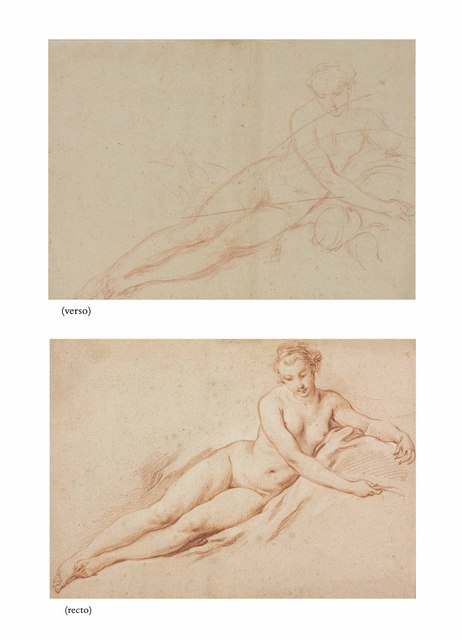 , 'A reclining female nude (recto and verso),' , Christie's Old Masters