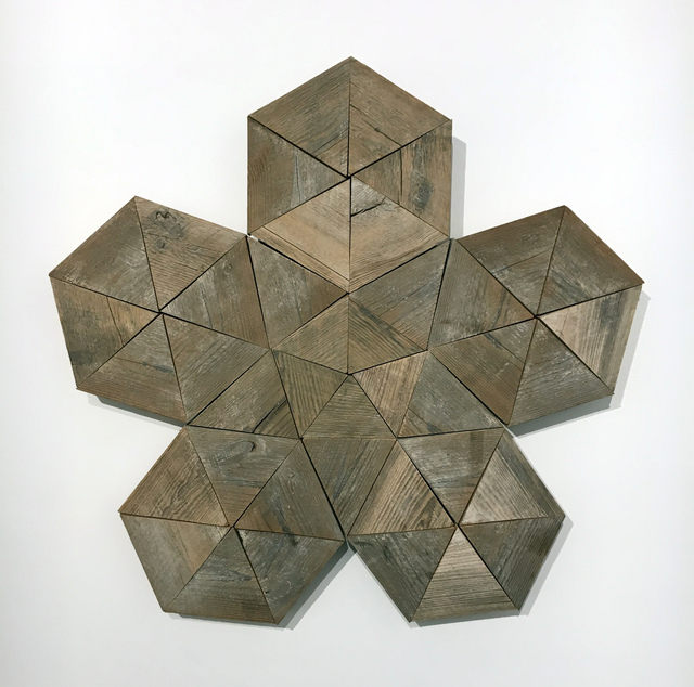 , 'Large Geoflake,' 2017, Duane Reed Gallery
