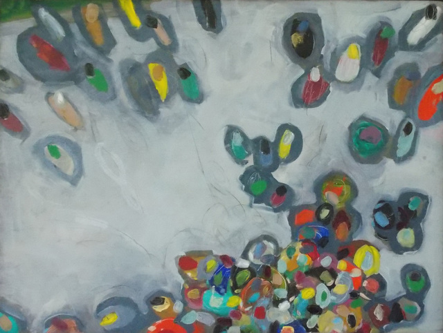 , 'Groupflight III,' 2017, Clyde Hogan Fine Art