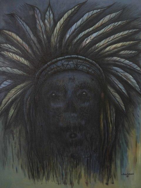 Alexis Jean Robert, 'Indiens I', 2018, Le Centre d'Art d'Haïti