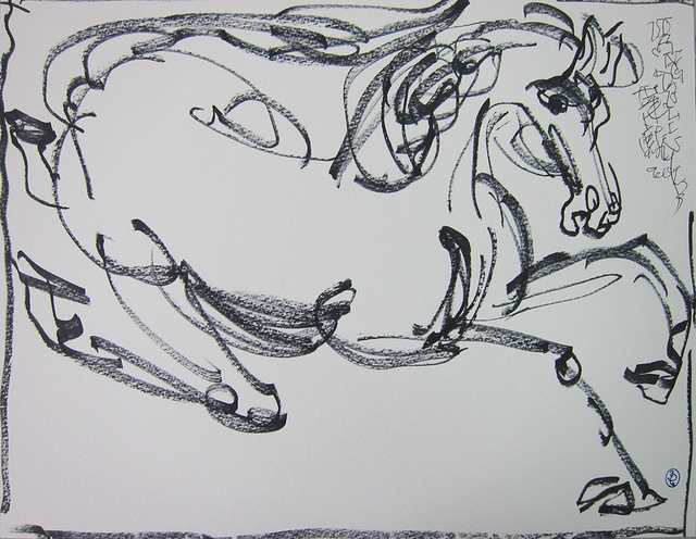 , 'Galloping Horse,' 2013, Alisan Fine Arts