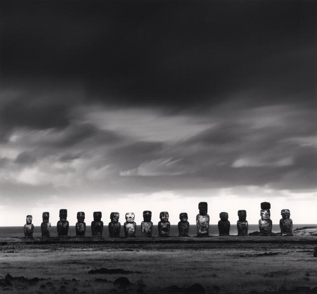 , 'Moai, Study 50, Ahu Tongariki, Easter Island,' 2001, Vision Neil Folberg Gallery