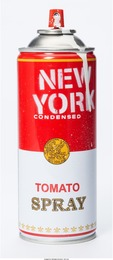 Spray Can: New York (White)