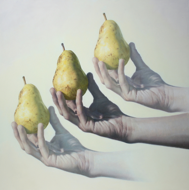 Joshua Suda, 'Offering', 2020, Painting, Oil on Wood Panel, Conde Contemporary