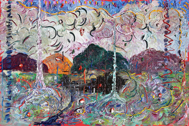 , 'Green Mountain,' 2019, Bau-Xi Gallery