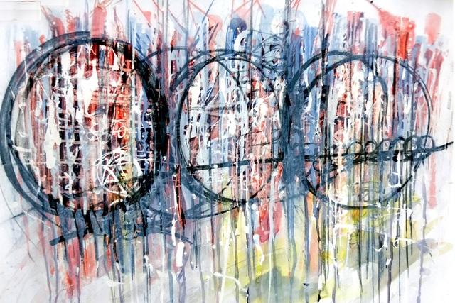 Virendra Maurya, 'Unknown Shape of Line - 2', 2018, Dhi Artspace