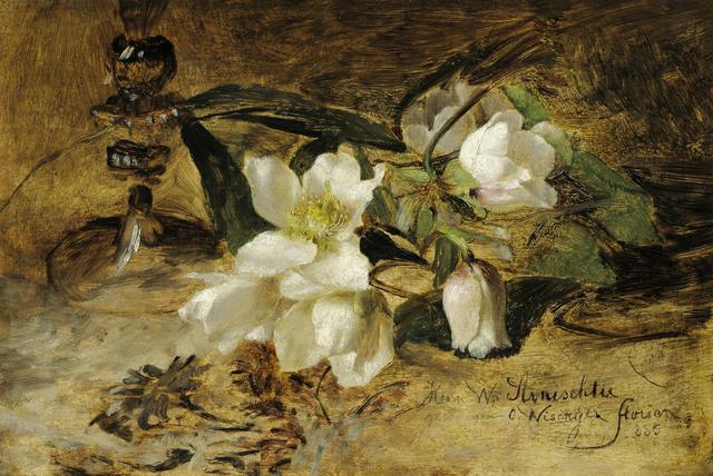 , 'Snow Roses,' 1885, Galerie Kovacek