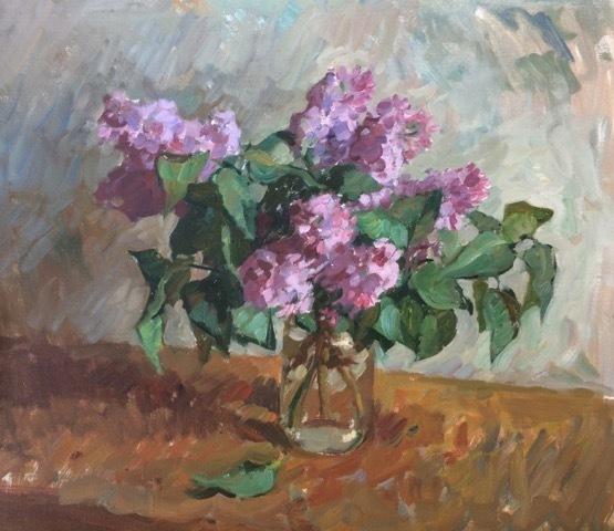 , 'Lilacs,' 2018, Grenning Gallery