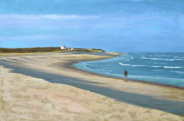 , 'Walking the Beach,' 2017, Addison Art Gallery