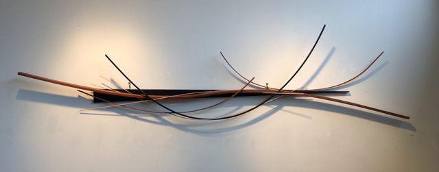, 'Wedged Arc,' 2012, Atrium Gallery