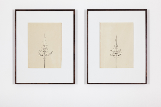 , 'Pair of Winter Drawings 16vs16 and 13vs22, 20 February 2013,' 2013, Ingleby Gallery