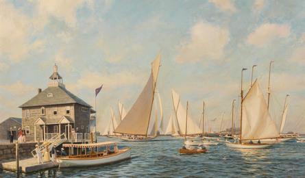 Race Day, Newport, 1893