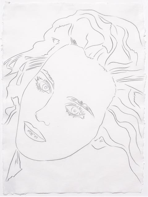 Andy Warhol, 'Portrait of Isabelle', 1986, Leslie Sacks Gallery
