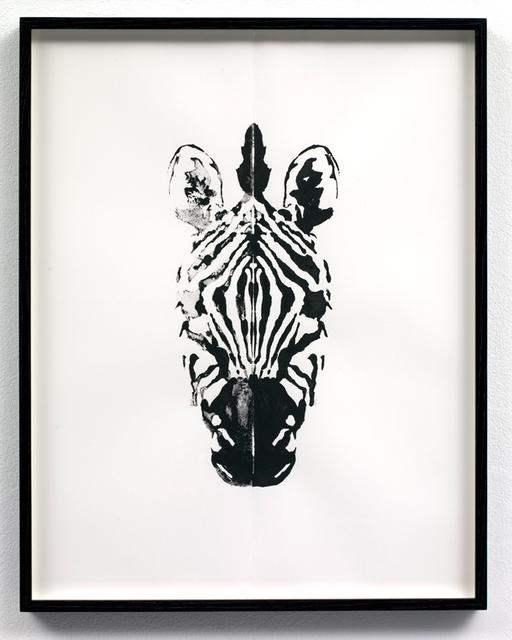 , 'Zebra (right hand side),' 2009, Stephen Friedman Gallery