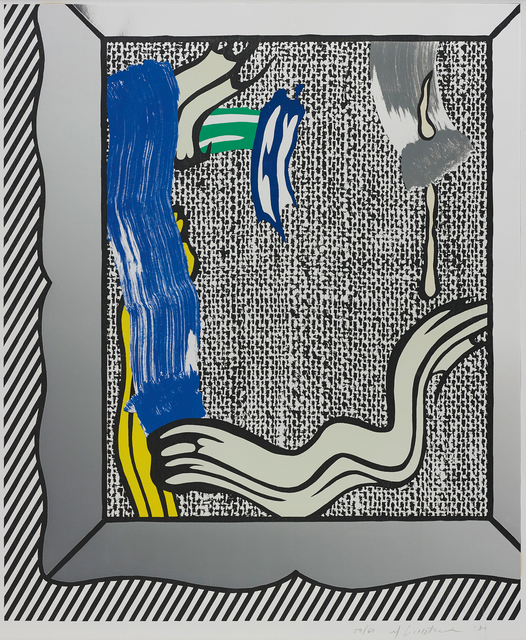 Roy Lichtenstein, 'Painting on Canvas, from Paintings series', 1984, Phillips