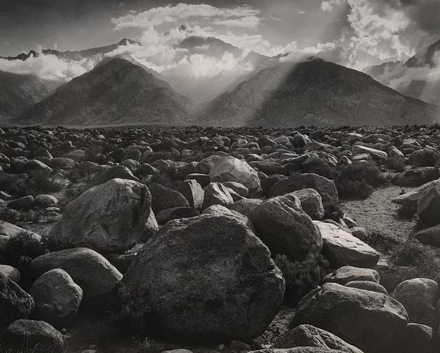 Ansel Adams, 'Mount Williamson, Sierra Nevada, from Manzanar, California, 1944 ', 1944, Photography West Gallery