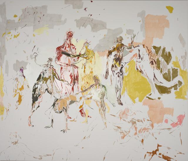 , 'Hooligans Lapdance,' 2015, Setareh Gallery