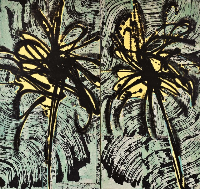 , 'Palms Diptych,' 2005, Andrea S. Keogh Art and Design