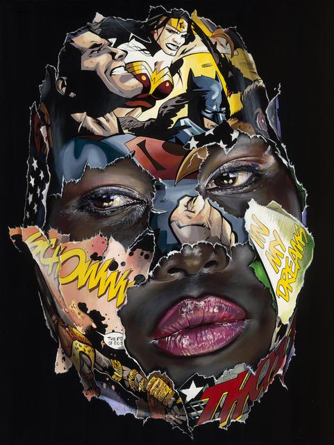, 'La Cage et le pouvoir des dieux,' 1977, Galerie C.O.A