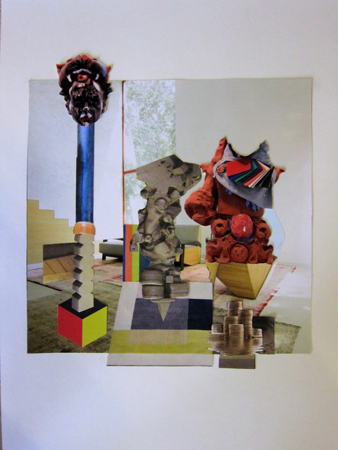 , 'collage,' 2014, Base-Alpha