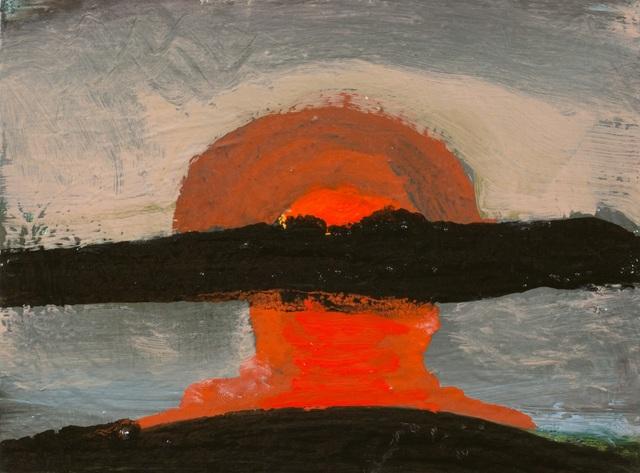 , 'rising red,' 2017, Sears-Peyton Gallery