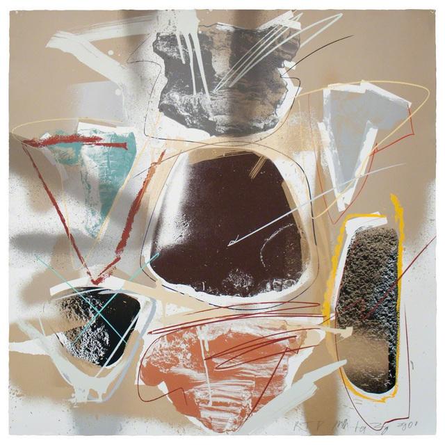Michael Heizer, 'Post Historic Screenprint No. 1', 2014, Print, Screenprint, Arches Aquarelle 356gsm, Gagosian