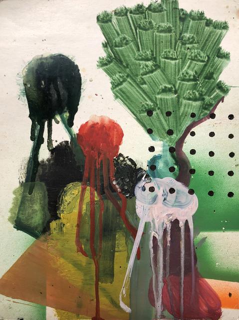 , 'The Oscillation of a Drum 鼓的振盪,' 2018, Sin Sin Fine Art