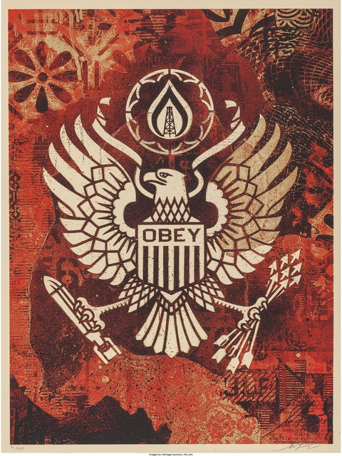 Shepard Fairey, 'Keep it Underground', 2015, Heritage Auctions
