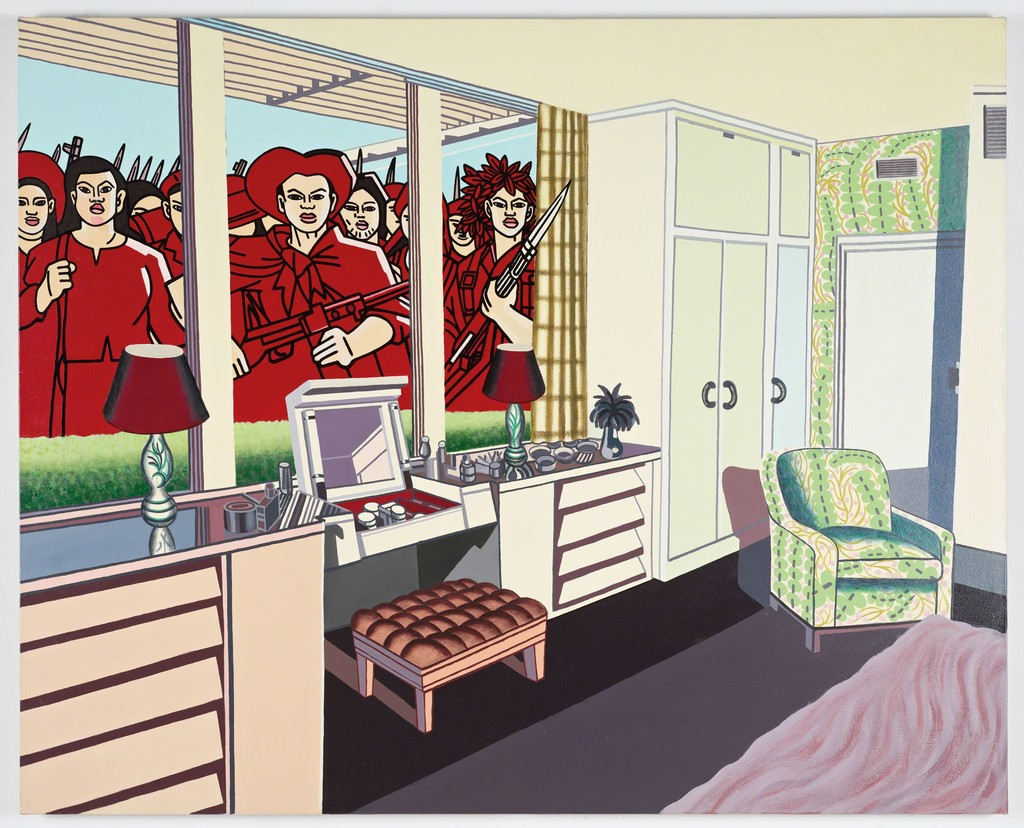 Erró, 'American Interior#1,' 1968, Tate Modern