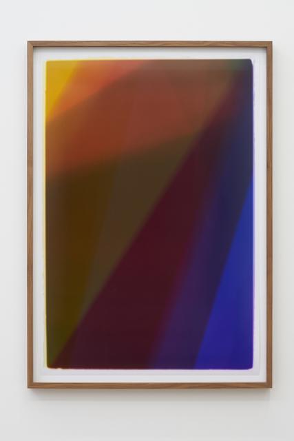 Sinta Werner, 'Vanishing Lines # III', 2016, Photography, Photogram, alexander levy