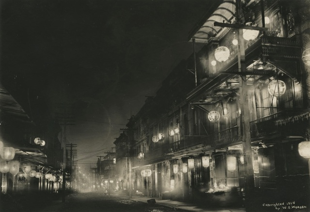 , 'Midnight in Chinatown,' 1903, de Young Museum
