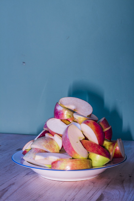 , '2421, Sliced apples,' 2015, Robert Morat