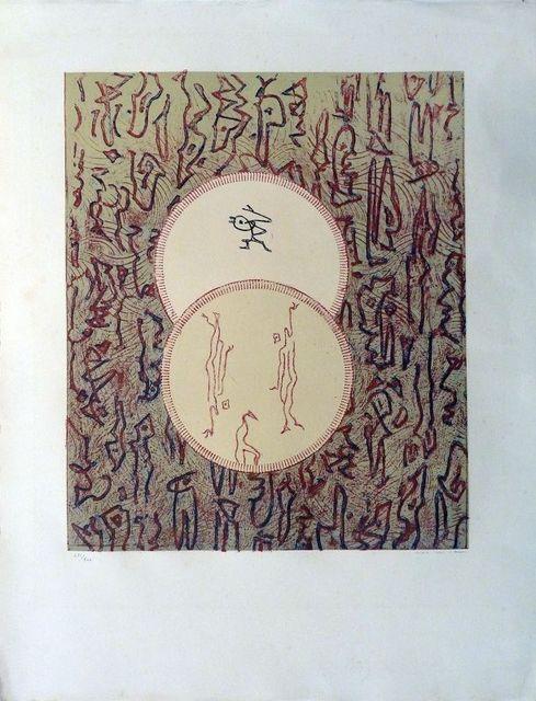 Max Ernst, 'Bibliothèque nationale ', 1975, Le Coin des Arts