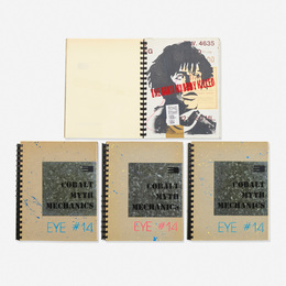 Various Artists, 'Eye Magazine #14: Cobalt Myth Mechanics (four examples),' 1986, Wright: Prints + Multiples (January 2017)