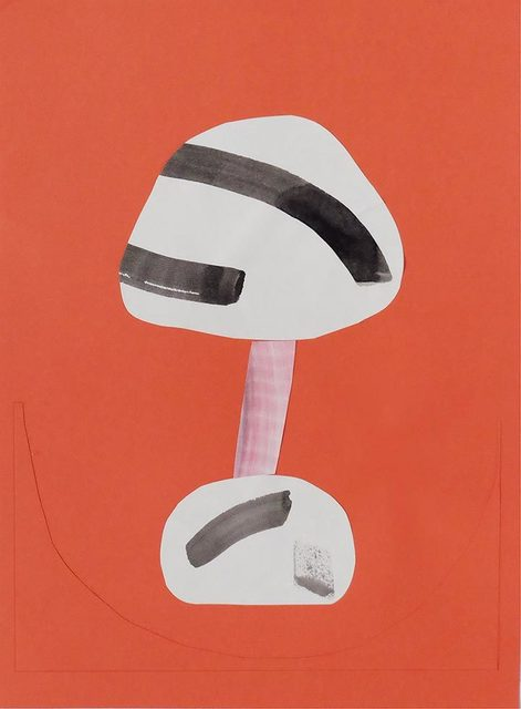 Alma Charry, 'Untitled', 2015, Drawing, Collage or other Work on Paper, Collage on colored paper, Uprise Art
