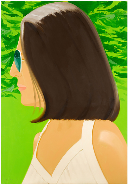 Alex Katz, 'Ada in Spain', 2018, Jim Kempner Fine Art