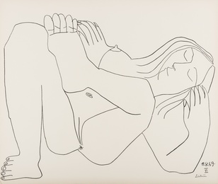 After Pablo Picasso, 'Femme Nue, nos. 11.8.69, nos. I & VI,' 1969, Forum Auctions: Editions and Works on Paper (March 2017)
