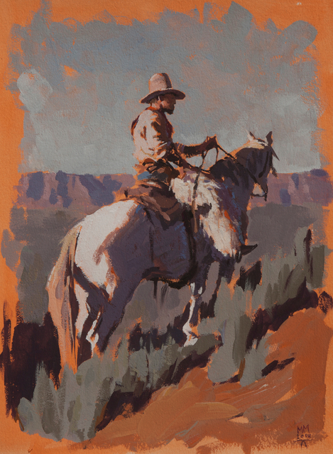 ", '""Up in Wyoming"",' 2018, Maxwell Alexander Gallery"