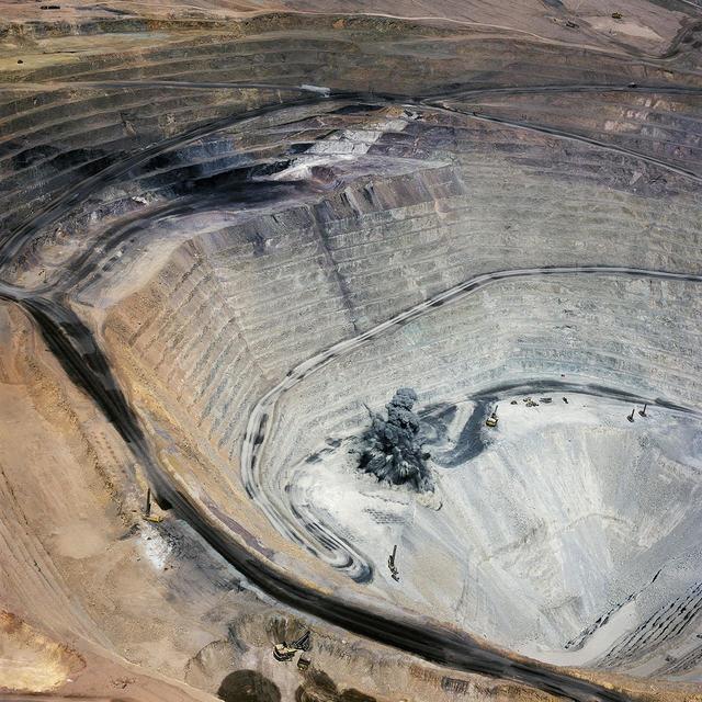 , 'Blast 1, Minera Centinela, Copper Mine, Antofagasta Region, Atacama Desert, Chile,' 2018, Robischon Gallery