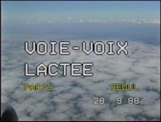 , 'Voie-voix lactée,' 1988, Arario Gallery