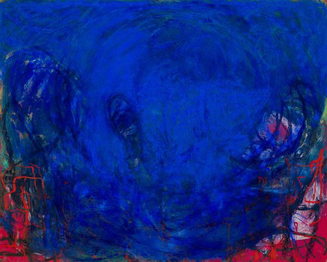 , 'blue,' 2017, Klowden Mann