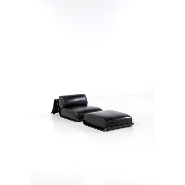 Oscar Niemeyer, 'Lounge Chair and Ottoman - Artist Proof', 1978, Design/Decorative Art, Contre-plaqué peint, métal et cuir, PIASA