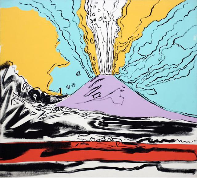, 'Vesuvius,' 1985, Gagosian