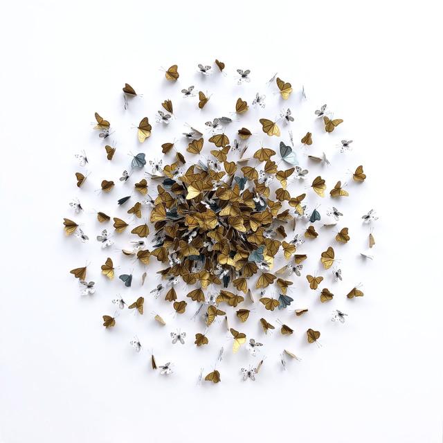 , 'Golden Kaleidoscope,' 2019, M1 Fine Art