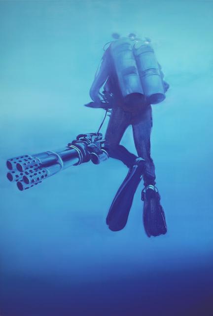 , 'Diver,' 2012, Nanzuka